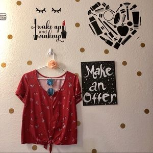 Tops - Tie up blouse